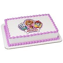 Paw Patrol Edible Frosting Sheet Cake Topper - Licensed - 1/4 Sheet