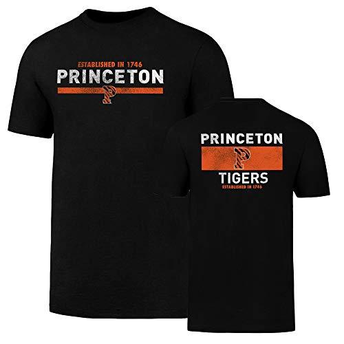 NCAA Princeton Tigers Men's OTS Rival Tee, Jet Black, Medium