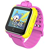 iSTYLE®: New Q730 Kids Wristwatch Support SIM card 3G GPRS GPS Locator Tracker Anti-Lost Smart Watch Children Gifts Watch with Camera WIFI SOS for IOS Android Smartphone (Pink)