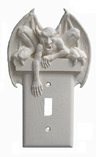 Gargoyle Goth Wall Plate Single Toggle Light Switch Wall Plate Cover