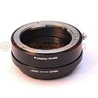 Fotasy Pro Pentax DA K Mount lens to Sony E-Mount Camera Adapter (With aperture control)