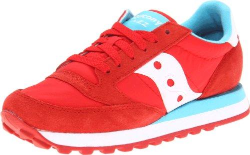 1044 Donna Sneakers Jazz Rosso Scarpe Saucony 280 Basse Originale xFfxIw