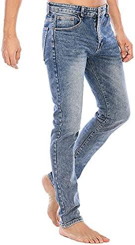 41WDDaWSN S. AC LONGBIDA Men's Slim Fit Jeans Stretch Tapered Leg Jean    Product Description