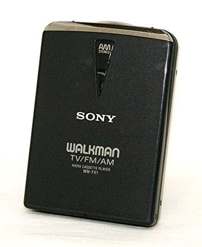 SONY ソニー WM-FX1-B ブラック チューナー付カセットウォークマン Dolby NR装備 再生専用機(ポータブルカセットプレーヤー) B00ZEXUYEU