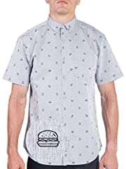Size: You can find a cool print or color that you'll love and be your favorite shirt. Button ups available in these sizes: Small Medium Large X-large 2X-Large 3X-Large 4X-Large. To ensure a right fit compare we recommend measuring a shirt ...