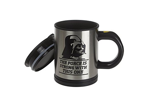 The Mix Your Star Wars With Vader Drink OzStainless Force Darth Steel Self Stirring Travel Mug 12 rCxWBode