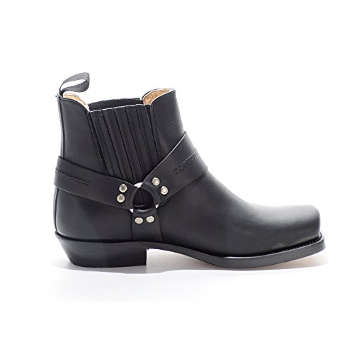 Unisex Boots On Ankle Pull Black Sancho nwpPYqACg