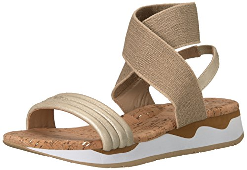 Donald J Pliner Women's Shaye Sport Sandal, Platino, 9 Medium US by Donald J Pliner