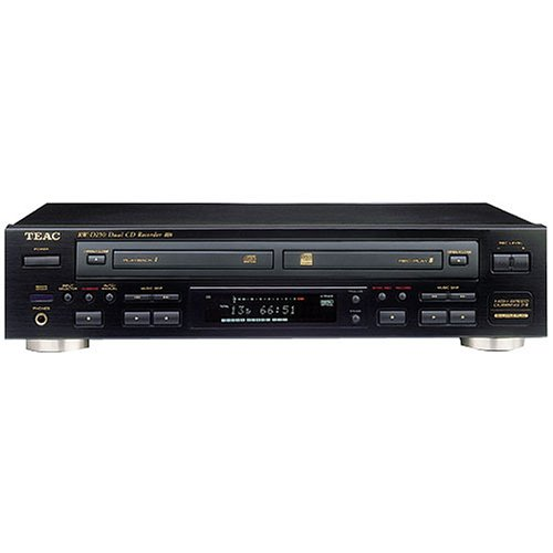Refurbished Teac RWCD22-RB Dual-Deck CD Player and Recorder Discontinued by Manufacturer