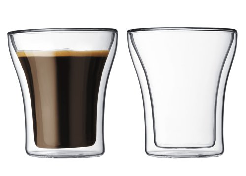 Bodum Thermo-Glass Assam Double Wall Thermo-Glasses , Set of