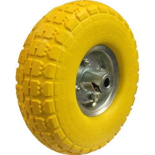 Replacement Tyre Solid 16mm Centre For Sack Truck 1 Tyre//S