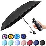 Best Mini Umbrellas - Travel Mini Umbrella Windproof Automatic Umbrellas Auto Open Review