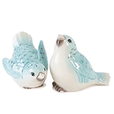 Fitz & Floyd Bloom Bird Salt and Pepper Set