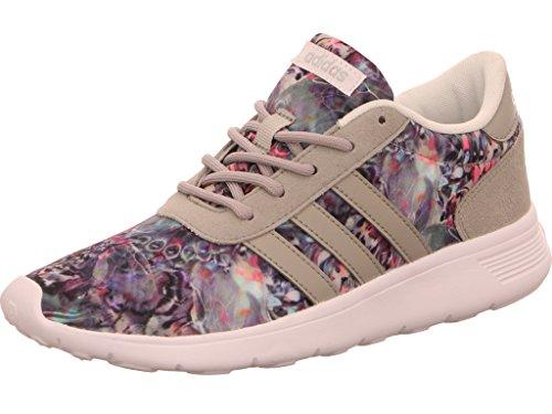 adidas Lite Racer W, Sneaker Bas du Cou Femme, Blanc Cassé (Ftwbla/Onicla/Plamat), 36 EU