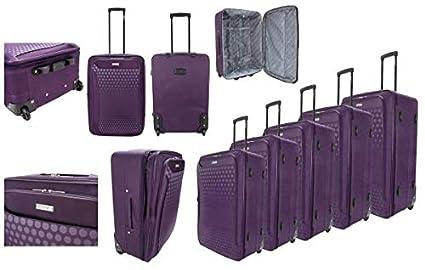 Juego de 5 Maletas de Viaje con Ruedas, de la Marca Luggage ...