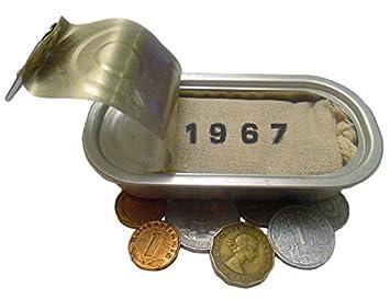 Symbolisch Wertvolles Geschenk Zum 51 Geburtstag Mit 5 Münzen Von