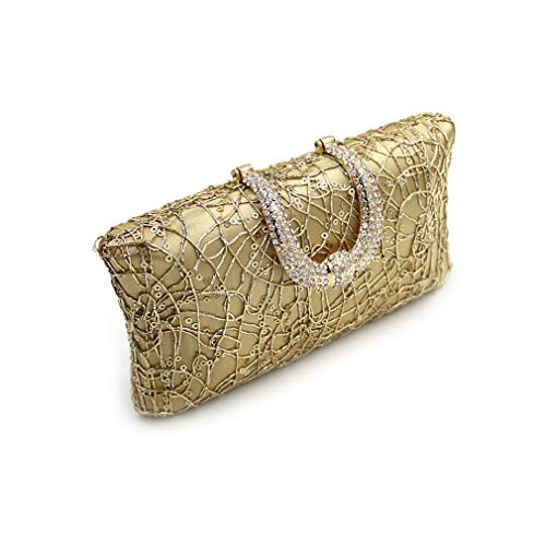 Female Gold Party Ladies Bag ULKpiaoliang Bags Clutches Day Evening Clutch Purse Women Silver q4OUwz8