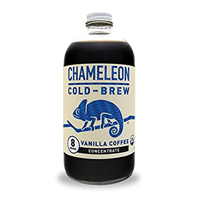 Chameleon Cold-Brew Organic Coffee Concentrate, Vanilla, 32 oz by Chameleon Cold-brew