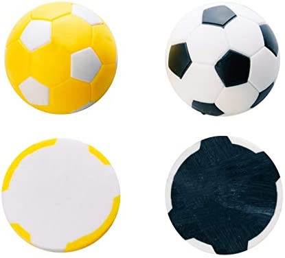 Robertson Bola futbolin Negra Gris 24gr 35mm 10 unid: Amazon.es: Deportes y aire libre
