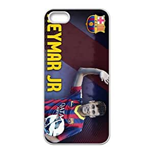 Neymar iPhone 4 4s Cell Phone Case White yyfabd-254154