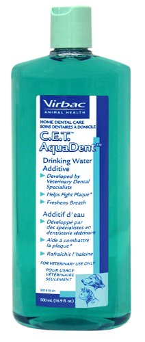 CET Aqua Dent Water Additive 500ML, My Pet Supplies