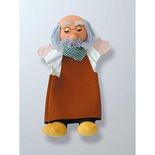 Andreu Toys 30cm grand-père main Marionnettes (Multicolore)