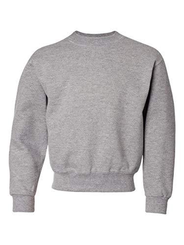 Sweatshirt Jerzees 562b (Jerzees 562B Youth Nublend Crew Neck Sweatshirt - Oxford, Extra Large)