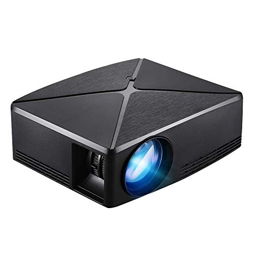 Nrpfell C80 Portable Led Mini Projector,Hdmi USB Home Theater Video Game Projector Beamer(Us Plug) Basic from Nrpfell