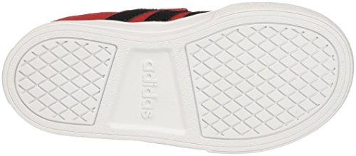 adidas Vs Set CMF Inf, Zapatillas Unisex Niños Rojo (Scarle/cblack/ftwwht)