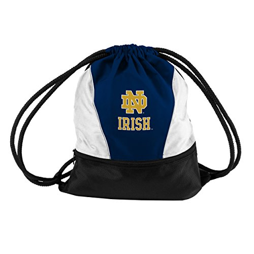 Logo Brands NCAA Notre Dame Fighting Irish Sprint Pack, Navy - Notre Bag Dame Gym