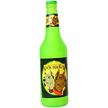 Pet Supplies : Silly Squeakers Beer Bottle Dog Toy, Dos