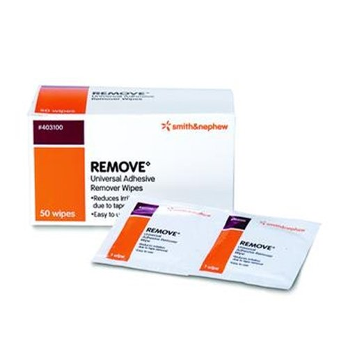 Smith & Nephew Remove Adhesive Remover Wipe - Case of 1000 - UNS403100_CS