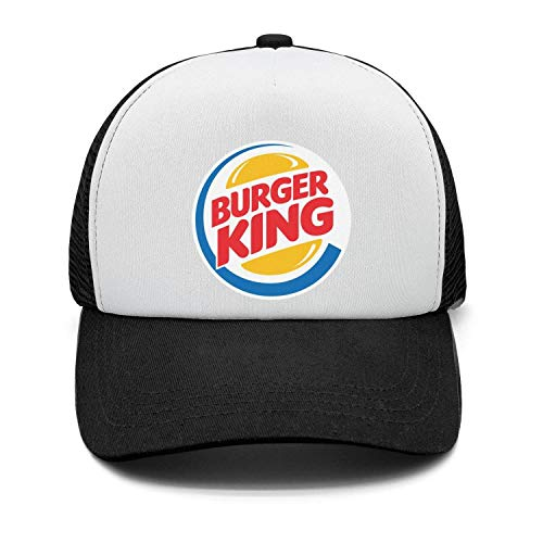 Burger King King - Men's Classic Snapback Hat Burger-King-Logo- Adjustable dad Cap