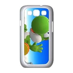 Samsung Galaxy S3 9300 Cell Phone Case White Super Smash Bros Yoshi Itcze