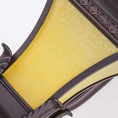 LLT Retro Waterproof Wall Lamp Outdoor Villa Garden Lighting Aisle Balcony Corridor Lamp