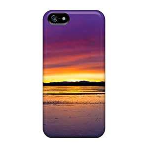 Iphone 5/5s Case Cover Skin : Premium High Quality Beautiful Lake Case
