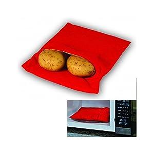 MEDIA WAVE store Sacco cuoci patate per microonde pronte in 4 minuti cucina express dieta 1 spesavip