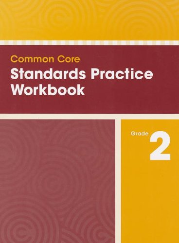 COMMON CORE STANDARDS PRACTICE WORKBOOK GRADE 2