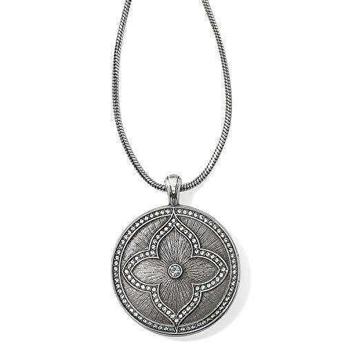 - Brighton Toledo Alto Noir Convertible Locket Necklace [SILVER]