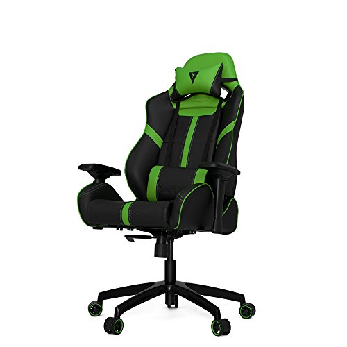 Vertagear Racing Series S-Line SL5000 Gaming Chair, Black/Green