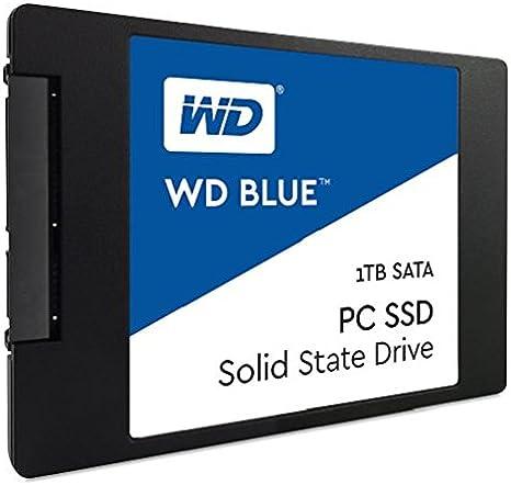 WD Blue, disco de estado sólido (SSD) interno de 1 TB - SATA a 6 Gb/s y 2,5