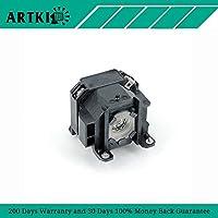 ELPLP38 / V13H010L38 Replacement Lamp for Epson PowerLite 1700c 1705c 1710c 1715c EMP-1710 EMP-1715 EMP-1717