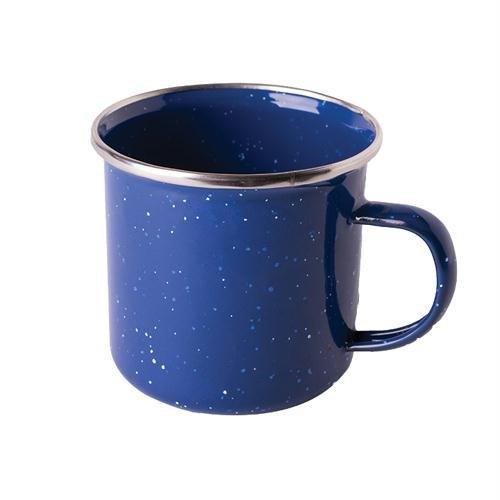Stansport S.S. Edge Enamel Coffee Mug, 12 oz