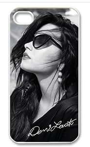 Hot Singer Superstar Demi Lovato Design TPU Case For iPhone 5c iphone 5c-82323