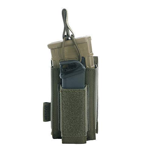 EXCELLENT ELITE SPANKER Open-Top Single/Double/Triple Mag Pouch for M4 M16 AK AR Magazines and Pistol Mag Pouch(RGN)
