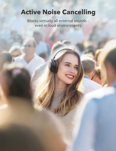 Active Noise Cancelling Headphones TaoTronics Bluetooth Headphones 2020 Version Over Ear Wireless