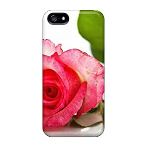Fashion Qudsjnl6909pSHju Case Cover For Iphone 5/5s(time For Rose)