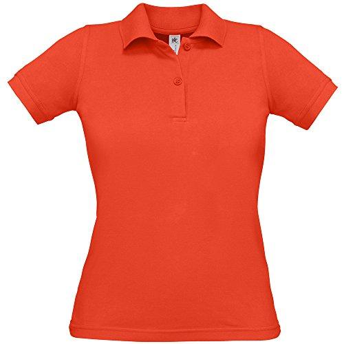nbsp;– B Piqué Algodón Sunset Mujer Polo C B amp; nbsp;bajera Collection amp;c Orange Safran wqtt10Tx