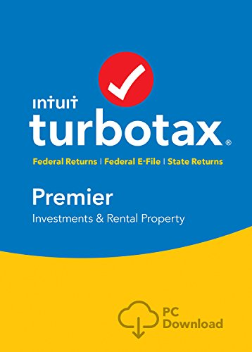 TurboTax Premier 2016 Tax Software Federal & State + Fed Efile PC download  [Amazon Exclusive]