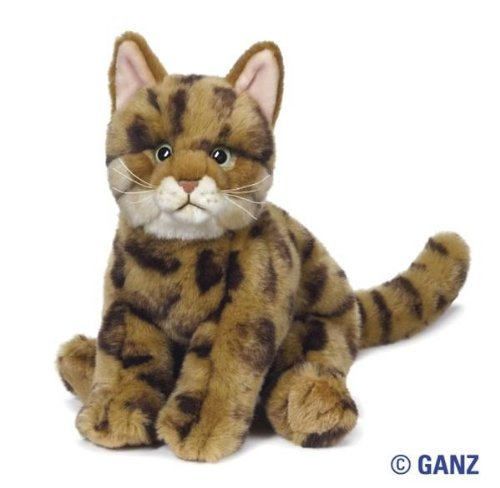 Webkinz Signature Bengal Cat with Trading Cards